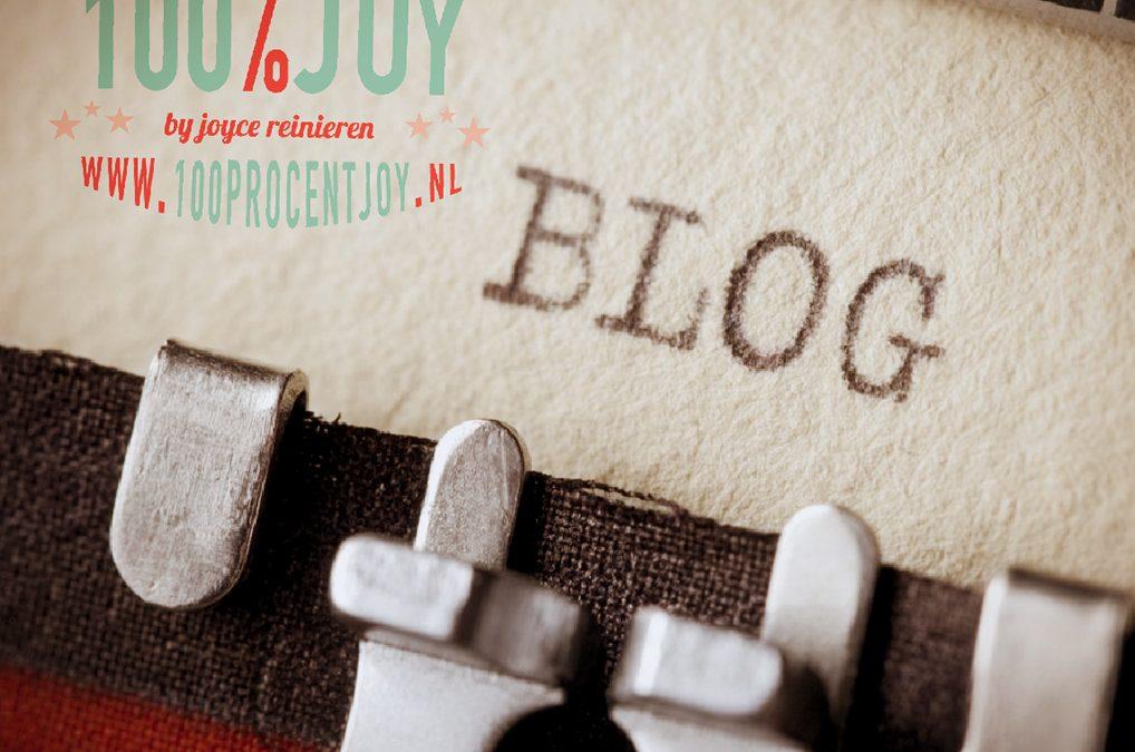 Eerste Blog