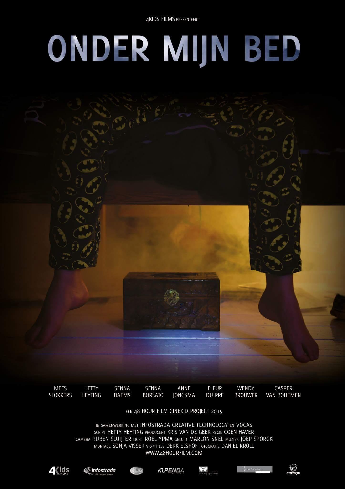 Onder mijn bed