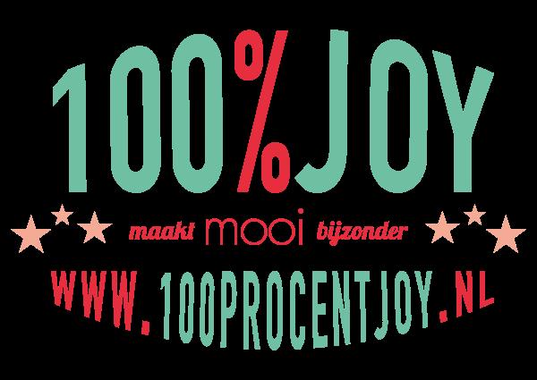 100% Joy logo